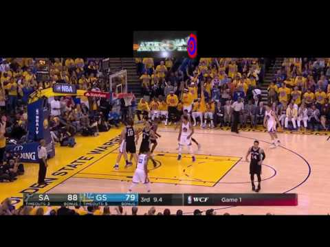 Thumbnail: Golden State Warriors Amazing 25pt comeback vs. San Antonio Spurs (NBA Playoffs WCF , Game 1) 2017