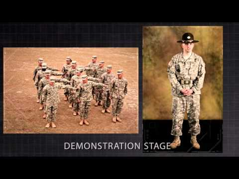 Align a Platoon in Line Formation
