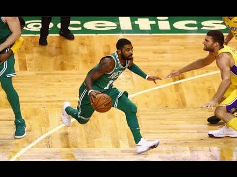 Kyrie Irving Top 10 Best Crossovers and Handles from the 2017-2018 NBA Season (Part 1)