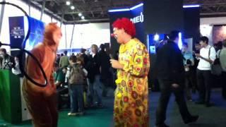 Игромир 2010. Два клоуна из 2x2