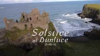 Summer Solstice at Dunluce Castle, County Antrim   2014