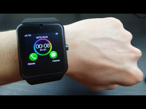 Умные часы Gt08 копия на копию Apple Watch