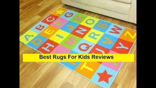 Top 3 Best Rugs For Kids Reviews in 2019