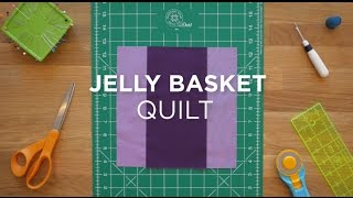 vuclip Easy Jelly Basket Quilt Block - Quilt Snips