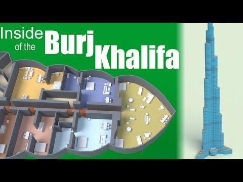 Apa Isi Dalam Burj Khalifa?