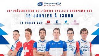 Présentation officielle de l'Équipe cycliste Groupama-FDJ