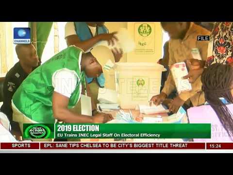 EU Trains INEC Officials Ahead Of 2019 Elections