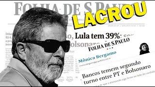 DATAFOLHA: Lula vencerá 5ª eleição presidencial seguida