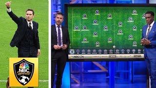Chelsea, Frank Lampard outfox Tottenham, Jose Mourinho | Premier League Tactics Session | NBC Sports