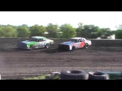 Nodak Speedway IMCA Hobby Stock Heats (6/3/18)