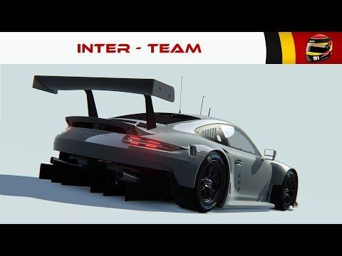 Inter Team - Porsche 911 RSR - Spa (Assetto Corsa) [FR ᴴᴰ]