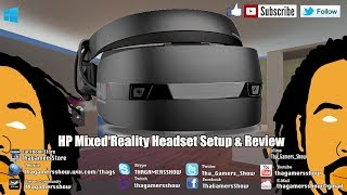 SE05EP13: Windows Mixed Reality HP Headset Setup & Review