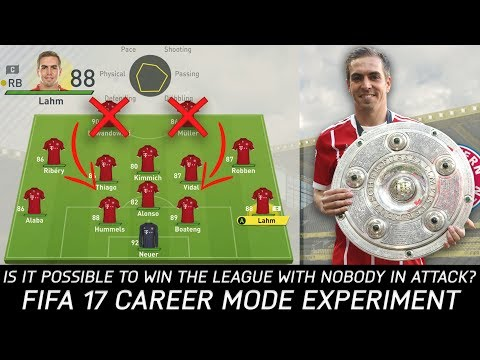 Thumbnail: Is It Possible To Win The League With Nobody In Attack? - FIFA 17 Experiment