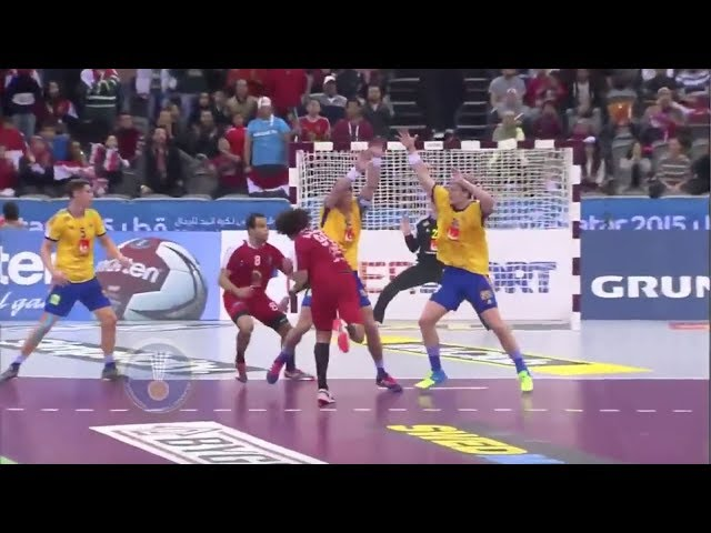 120 km/h HANDBALL SHOT!