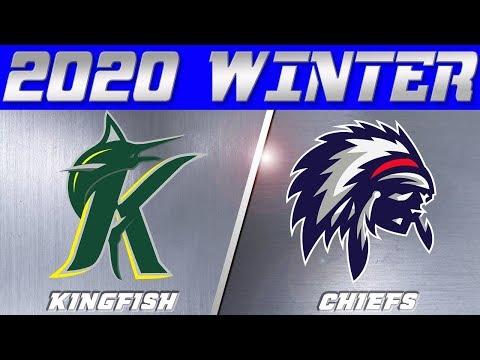 Kingfish vs Chiefs | San Diego | North County | 2020 Winter | WEEK ONE