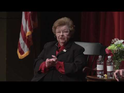 A Women's Centennial Event: Climbing The Hill with Barbara Mikulski and Cokie Roberts