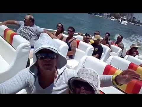 Thriller Speedboat Clearwater Beach Florida 2016 Cpt. Jacob and Cpt. Nicholas Part 1