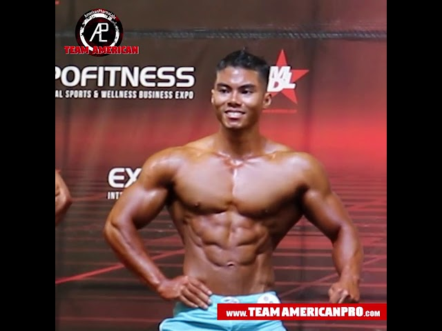 KEVIN CAM - MEN'S PHYSIQUE - TEAM AMERICAN - www.TeamAmericanPro.com