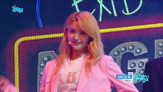 【TVPP】 EXID – Night Rather Than Day, 이엑스아이디 – 낮 보다는 밤 @Show Music Core
