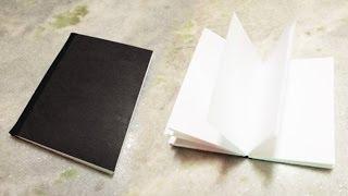 Como fazer um Sketch Book passo a passo