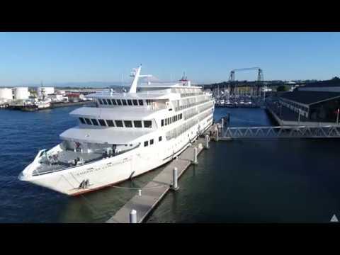 Foss Seaport, American Constellation Visit