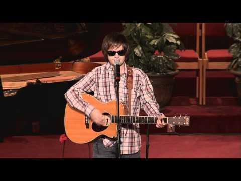 Garrett Miles sings