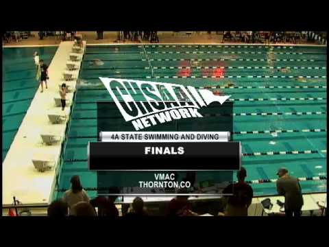 2012 CHSAA 4A Boys Swimming & Diving Championships-Finals