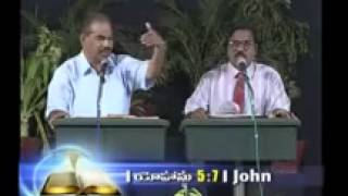 dgs dhinakaran message in telugu   God is love & crucifixion of christ   YouTube