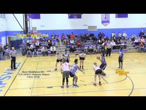West Middlesex HS 5-10/G #31 Delaney Dogan