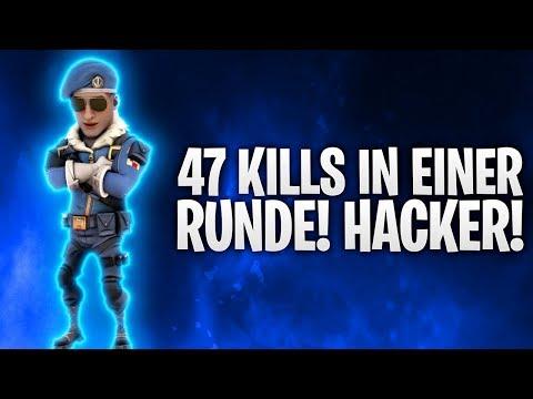 HACKER MIT 47 KILLS IN EINER RUNDE! 💀 | Fortnite: Battle Royale