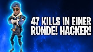 HACKER WITH 47 KILLS IN A ROUND! 💀 | Fortnite: Battle Royale