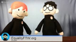 Potter Puppet Pals 2013 EqualityFTW Livestream