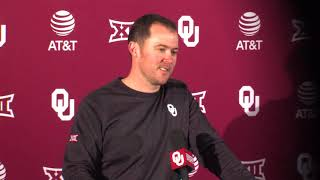 Spring Practice Press Conference - Lincoln Riley