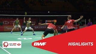 FUZHOU CHINA OPEN 2018 | Badminton MD - QF - Highlights | BWF 2018