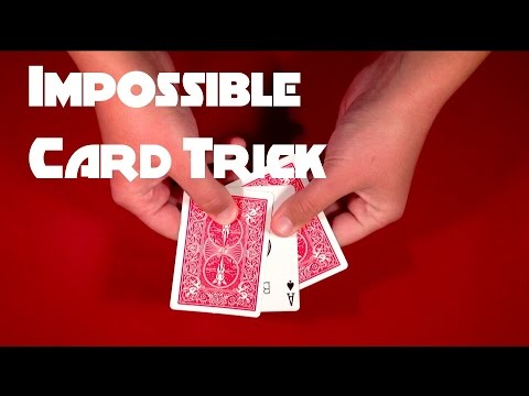 Most Impossible Card Trick Tutorial!