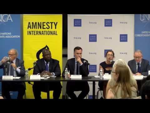LIVE: UN – Suspend Saudi Arabia from Human Rights Council