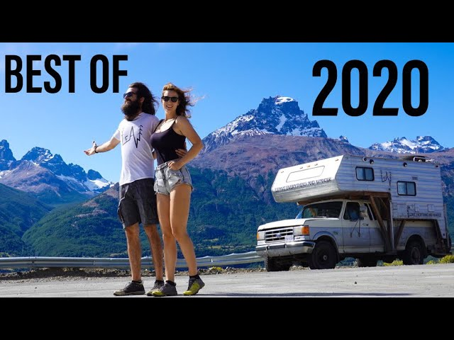 OVERLANDING South America with a TRUCK CAMPER - BEST DRONE FOOTAGES of 2020 VAN LIFE