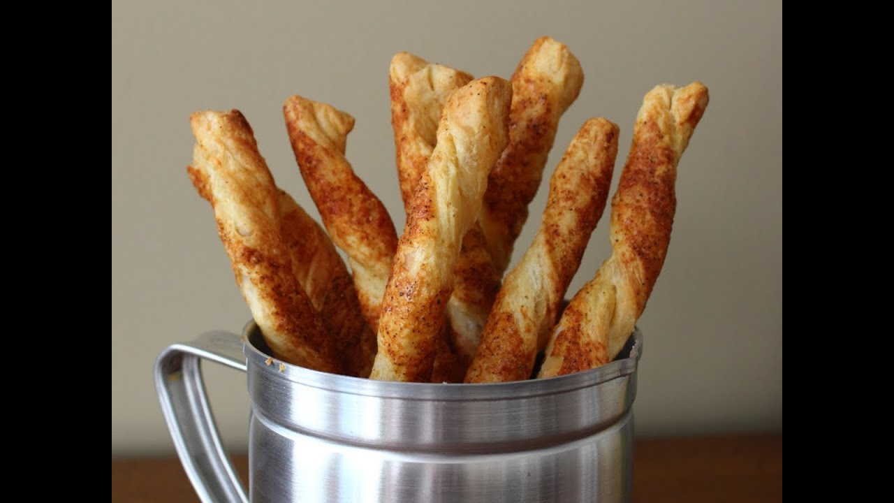Cheese straws cheesy bread sticks recipe youtube forumfinder Gallery