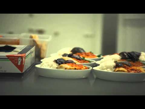 Singapore Airlines - Gourmet Airline Food