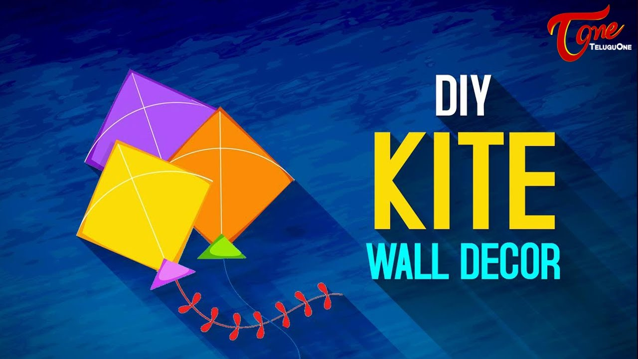 Good Makar Sankranthi Special | How To Make A Decorative Paper Kite   YouTube