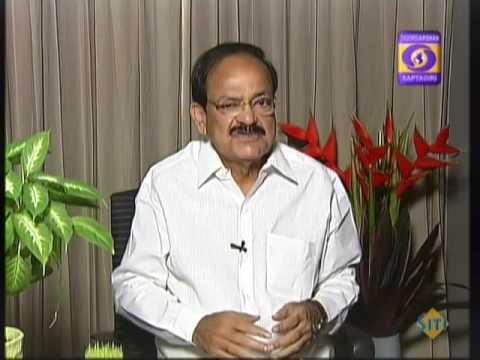 Venkaiah Naidu   Exclusive interview to DD News   on Special status to AP