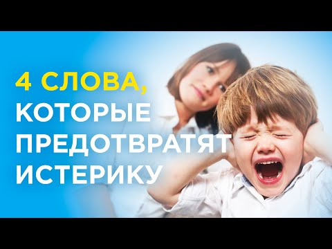 Как предотвратить истерику ребёнка?