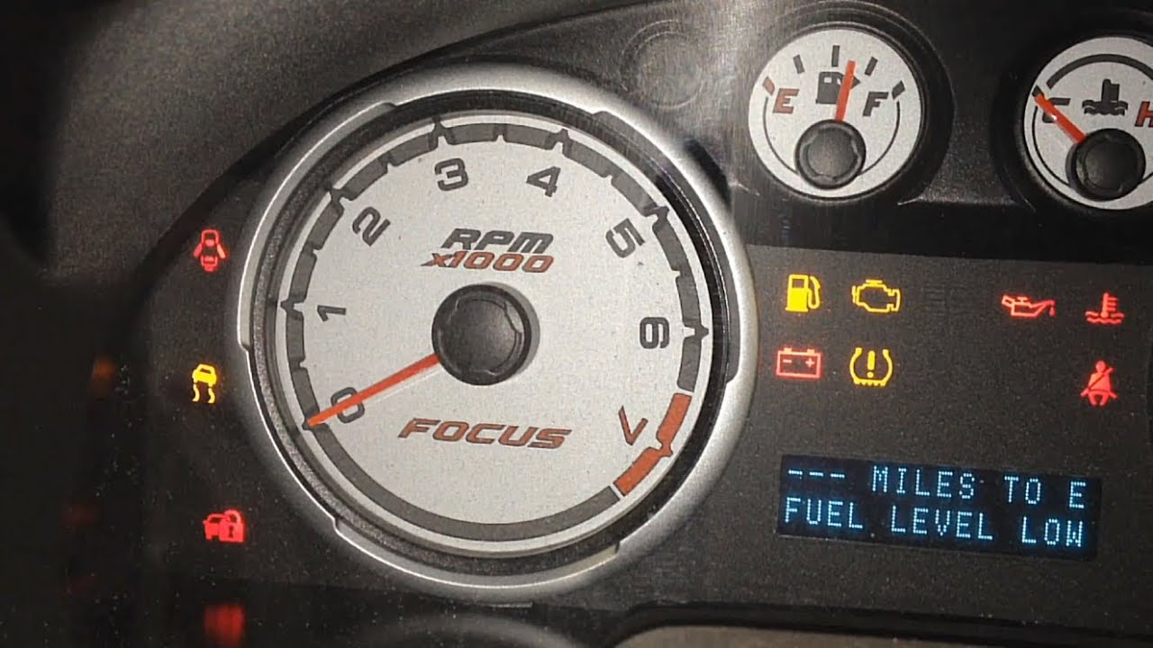 Ford Focus Dashboard Warning Lights