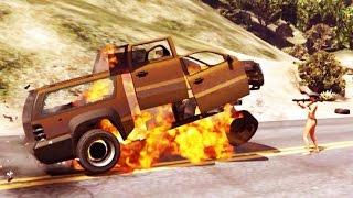 GTA 5 - Sete cenas em câmera lenta ( gravadas no Modo Diretor )