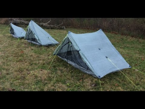 Zpacks Plex Tent Comparison & Zpacks Plex Tent Comparison - YouTube