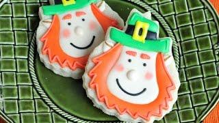 Leprechaun Cookies, Saint Patrick's Day, Haniela's