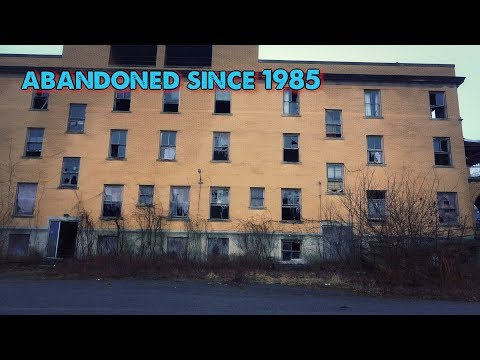 They left this hospital abandoned since 1985👻 creepy childrens room found!