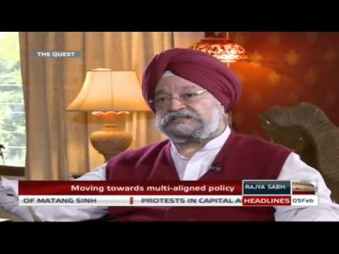 Hardeep Singh Puri in 'The Quest'