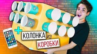 пРОВЕРКА ЛАЙФХАКОВ ИЗ ИНСТАГРАМ | СДЕЛАЛ КОЛОНКУ ИЗ КАРТОНА