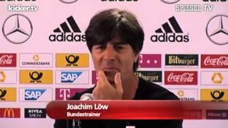 """""""Ein guter Idiot"""": Löw lacht über Sammer, 28.05.2013"""